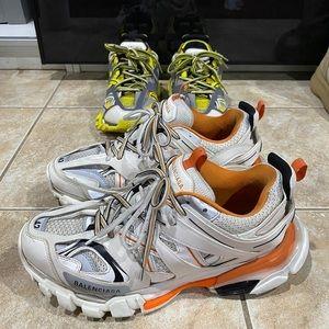 Balenciaga Training Track Sneakers | Size 9 USED